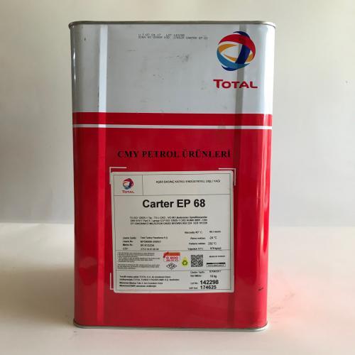 TOTAL CARTER EP 68-100-150-220-320-460 (16 KG-185 KG)