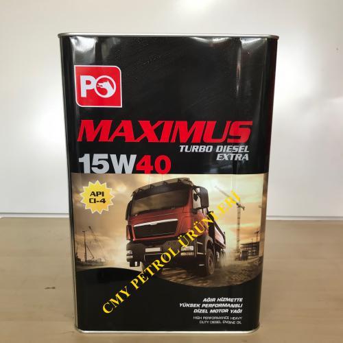 MAXIMUS TURBO DİZEL EXT.15W40 (16 KG-17,5 KG-180 KG-850 KG)