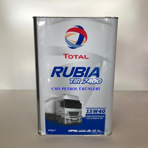 RUBIA TIR 7400 15W40 CI-4 (16 KG-17,5 KG-185 KG)